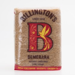 Zucker Demerara Billington's Natural 500g